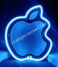 New Apple Logo 3D Acrylic Beer Bar Pub Art Real Neon Sign Wall decor FREE SHIP