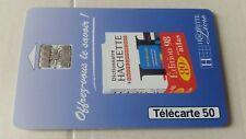 Telecarte 50 unités  HACHETTE  très bon état