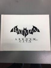 Batman Arkham City Art Book NO GAME