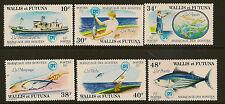 Wallis et Futuna: 1979 listao ensemble SG 310-5 menthe non montés