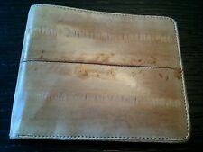 Vintage eel skin mens wallet