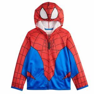 Kids Spider-Man Marvel Avengers Boy Girl Costume Hoodie Jacket 5 6 7 8 10 12