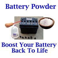 Refurbish Fix Renew DEEP CYCLE RV Battery Batteries repair Kit