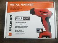 New!! Ullman Metal Marker Tool Kit, Marks on Steel, Chrome & more, 110V #MM-1