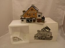 Heritage Village Collection Dept 56 New England Series Jannies Mullet Amish Barn