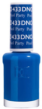 DND Pool Party 433 Neon Blue (Nail Polish Only - No Gel) 15ml