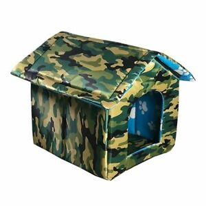 Outdoor Pet House Waterproof Thickened Cat Tent Puppy House Cat Foldable Bed