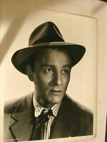 8 X 10 B & W Movie Promo Mystery man in suit and tie Photo DS1069