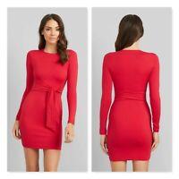 KOOKAI | Womens Biancas Red Bodycon Dress NEW [ Size 1 or AU 10 / US 6