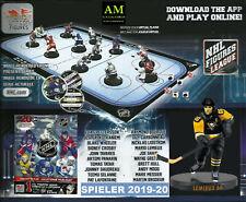 """IMPORTS DRAGON NHL FIGURES LEAGUE - PENGUINS -  MARIO LEMIEUX - 3""""inch FIGUR NEU"""