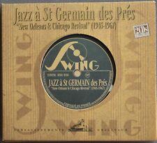 "JAZZ A ST GERMAIN DES PRES ""NEW ORLEANS & CHICAGO REVIVAL"" (1945/1967)   2 CD"