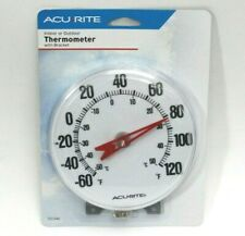 "AcuRite Indoor Outdoor 5"" Thermometer With Bracket (387)"