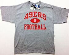 NWT Vtg 1995 STARTER San Francisco 49ers #8 Football Practice T-Shirt / S Young