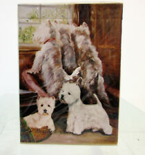 West Highland White Terrier Poker Playing Card Set of Cards Terriers By Ruth M