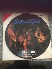 Status Quo Caroline 7 Inch Vinyl Album In Excellent Condition