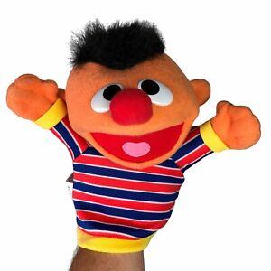 Fisher Price Sesame Street Ernie Hand Puppet Plush Stuffed Animal Toy 2004