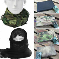 Mens Womens Army Military Tactical Keffiyeh Shemagh Mask Arab Scarf Head Wrap