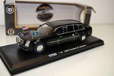 Luxury Diecast 1:43 LDPL600BK Cadillac Presidetial Limoousine 2009, schwarz