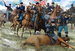 Strelets 1/72 U.S. Union Cavalry Gettysburg (American Civil War Era) # 15172