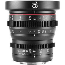 MEKE Meike 12mm T2.2 Manual Focus Cinema Prime MFT Mount Lens