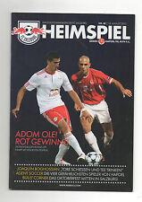 Orig.PRG   Champions League  2010/11   RED BULL SALZBURG - HAPOEL TEL AVIV  !!