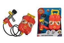 Simba 109250916 - Pompier Sam - Pistolet à Eau avec Sacoche pour Réservoir -