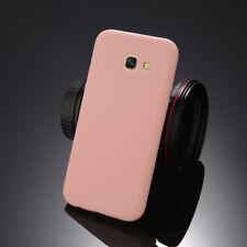 For Samsung A3 A5 A7 A8 2018 J3 J5 J7 Thin Case Candy Soft Rubber Silicone Cover