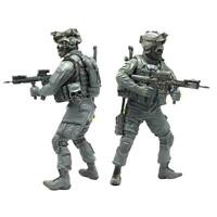 Yufan Model 1/35 Figure Special Forces Skeleton Hunter Soldier Resin Tlp-01 D0Z1