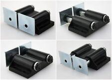 Doppel Magnetschnäpper Magnetschnapper Druckschnapper Schwarz inkl. Gegenplatte