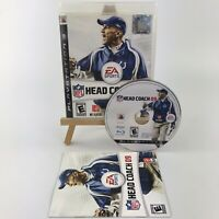 NFL Head Coach 09 (Sony PlayStation 3, 2008)w/ Manual & Original Case