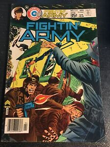 """Fightin'Army#132 Excellent Condition 4.5(1978)""""Nazi Urban Battle Cover"""""""