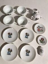 Vintage Japan Childs Toy Tea Set Dishes 14 pcs Ceramic Children