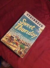 SWEET THURSDAY BY JOHN STEINBECK 1954 FIRST EDITION VIKING PRESS