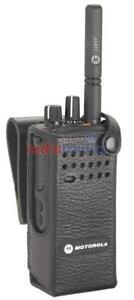 "Genuine Motorola DP4400 & DP4400e 3"" Swivel Belt Loop Leather Case"