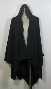 Plus size poncho,soft flannel fabric w/ chiffon hoodie,free size,up to 5X