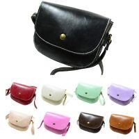 Retro Women Messenger Bags Chain Lady Shoulder Bag Leather Crossbody Bag Purse