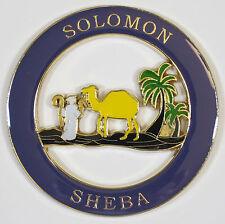 Auto Emblem - Masonic Solomon Sheba Queen Shrine Mason Freemason