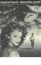 PUBLICITE ADVERTISING 1982 MAURICE FRANCK-ALEXANDRE ZOUARI haute coiffure
