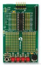Demonstration Board, PIC16F648A MCU, PICKit 2, 18 Pins, 4 LEDs, Potentiometer, P