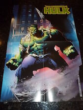 "THE INCREDIBLE HULK ""POSTER"" (Double Sided) -  Size 13"" by 20"""