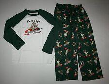 New Gymboree 2 Piece Gymmies Puppy Dog Pajamas PJs Set 7 8 Year NWT Boys