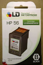 HP 56 black ink new (lot of 4)