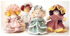 NURSERY RHYME poupées vintage sewing pattern S10010 (non fini objets)