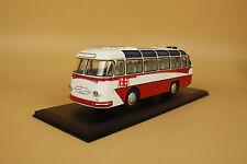 1/43 Soviet Union Russian LAZ-697E Tourist (White/red) + gift