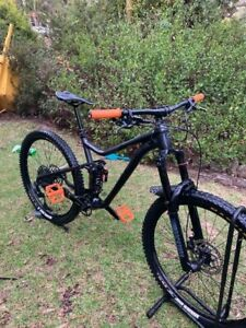 Merida one forty 400 used dual suspension mountain bike upgraded