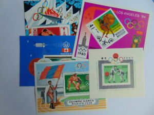 STAMPS / Mongolia / olympic games /
