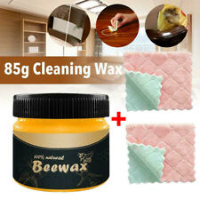 80g Wood Seasoning Beewax Complete Solution Furniture Care Beeswax M8S0
