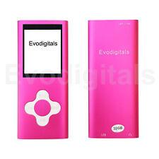 NEW EVO 32GB PINK ELITE MP3 MEDIA MP4 PLAYER MUSIC VIDEO FM TUNER GAMES VOICE +