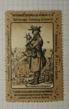 Intl Entomology Assn German Congress WW Clubs & Societies Poster Stamp