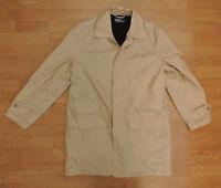 Men's Polo Ralph Lauren Medium Beige Rain Coat Waterproof  R4-12